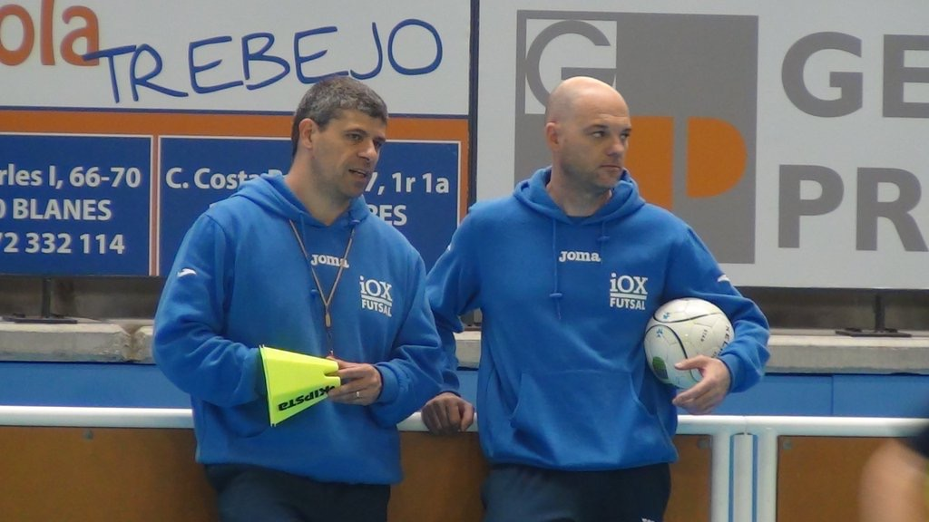 iOX Futbol sala asesoramiento xavi closas oscar alonso