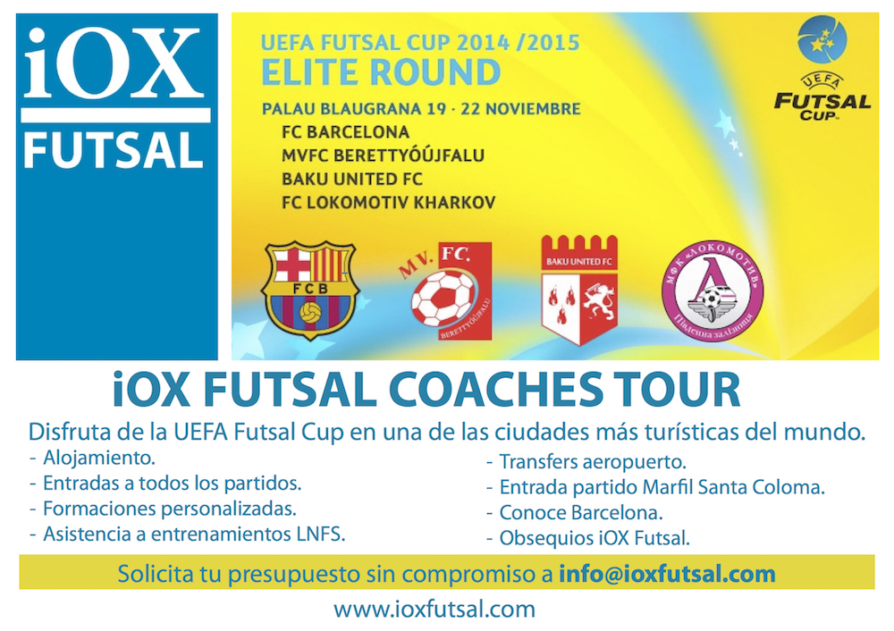 iOX Coaches Futsal Tour