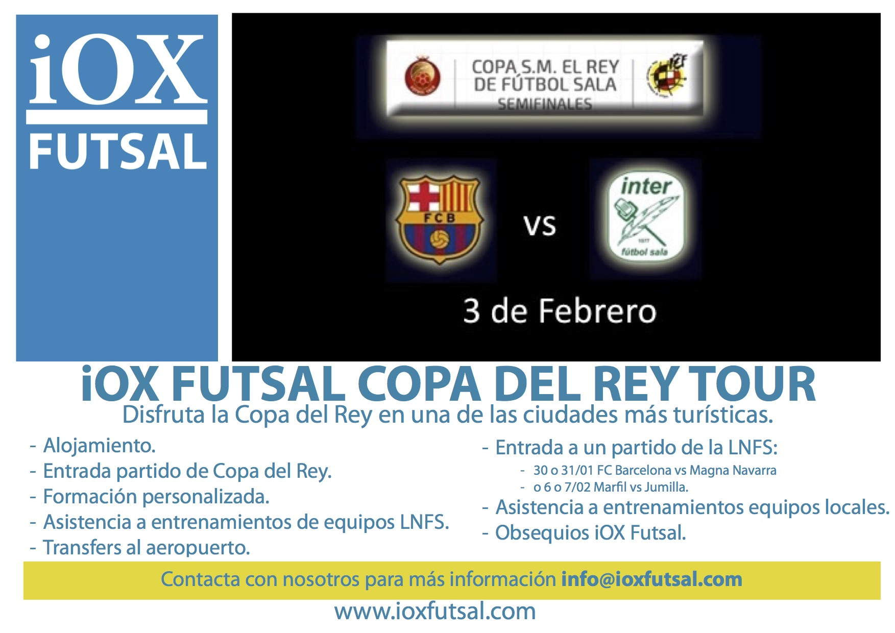 iOX Cup Coaches Tour ESP copia